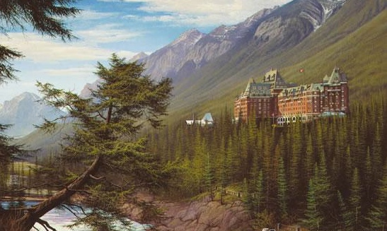 David Daase Banff Springs Hotel