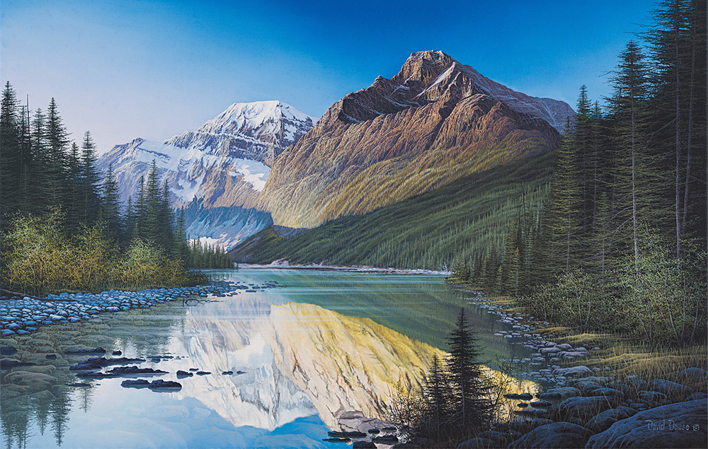 David Daase Mount Edith Cavell