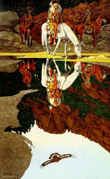 Bev Dooloittle The Good Omen