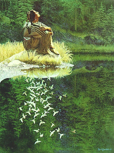 Bev Doolittle Let My Spirit Soar