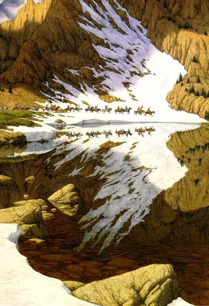 Bev Doolittle Season Of The Eagle