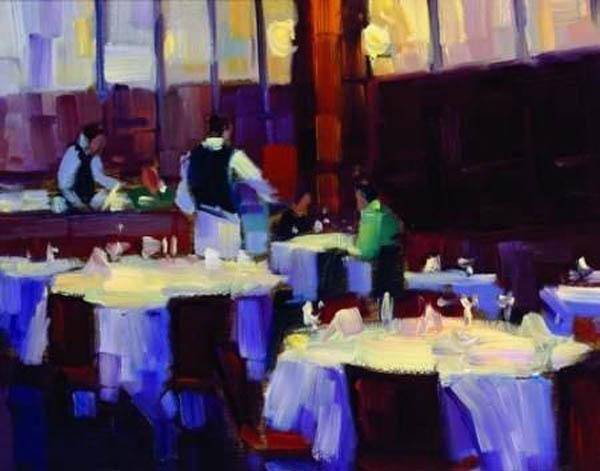 Michael Flohr Table For Two