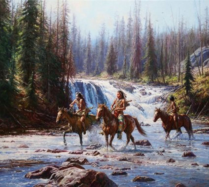 Art Country Canada Martin Grelle Crows In The