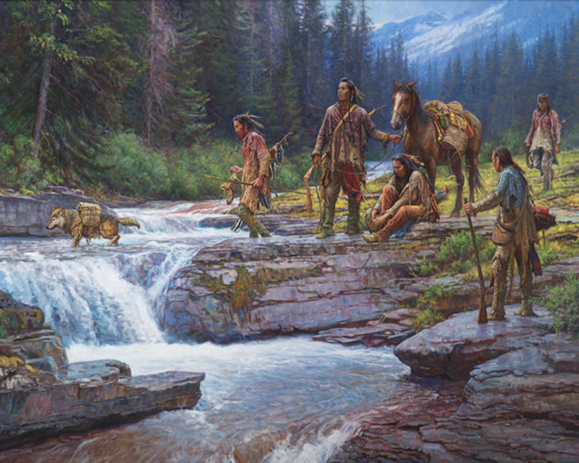 Martin Grelle Passage at Falling Waters