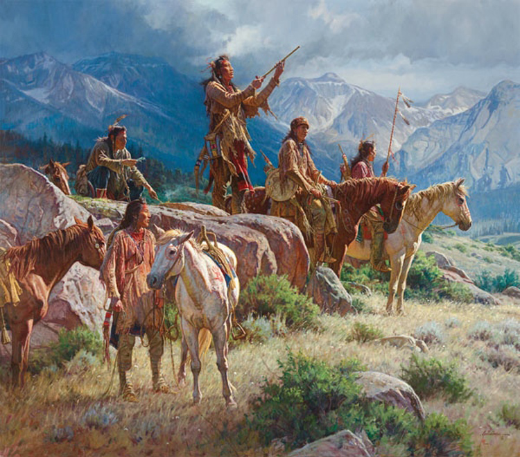 Martin Grelle Prayers of the Pipe Carrier