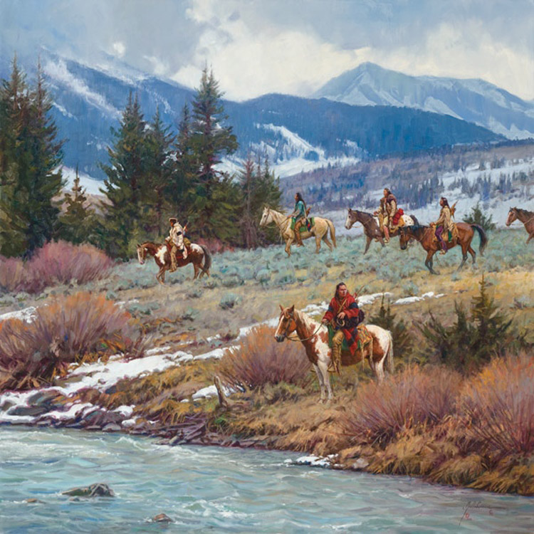 Martin Grelle Troubled Waters