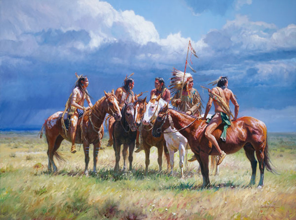 Martin Grelle Waiting on the Wolves