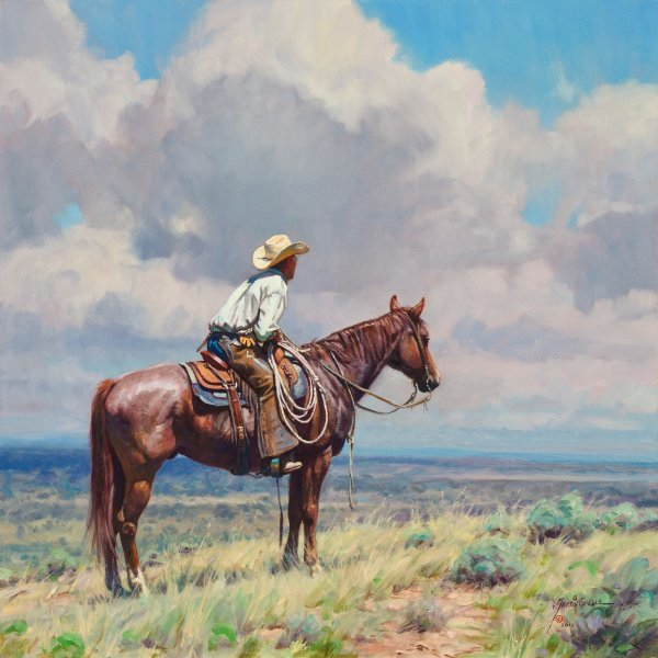 Martin Grelle West Texas Cow Hunter