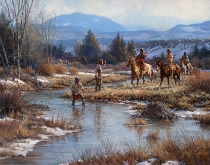 Martin Grelle Trappers in The Wind Rivers