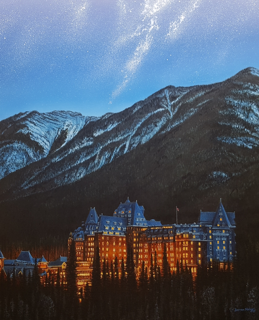 Darren Haley Banff Springs Hotel