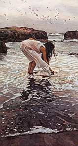 Steve Hanks Conferring With The Sea