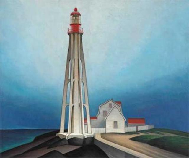 Lawren Harris Light House Father Point