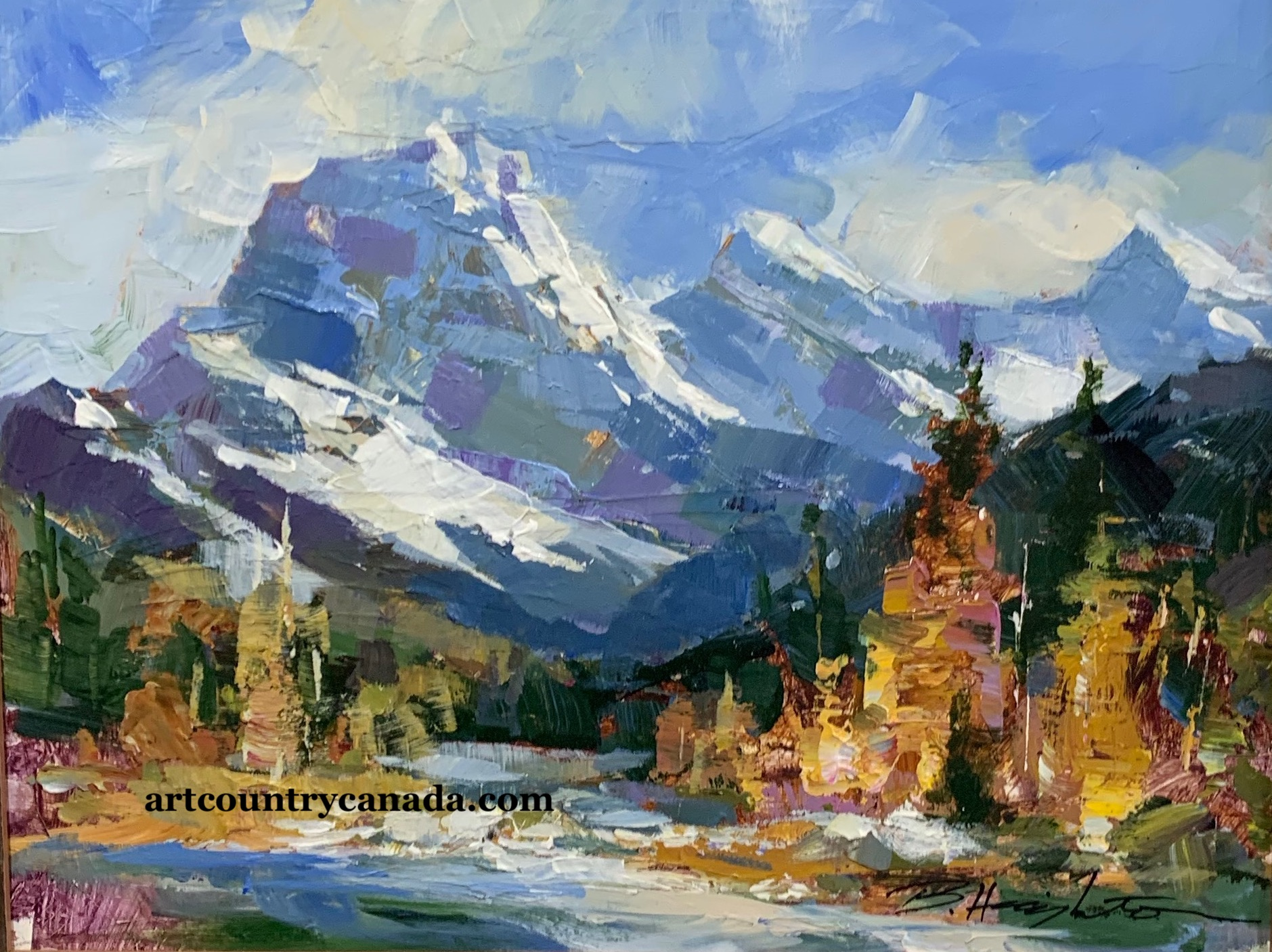 Art Country Canada - FRANKLIN CARMICHAEL Worlds Largest