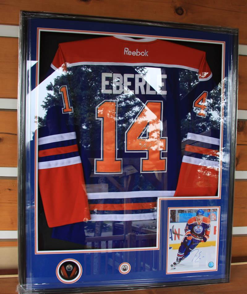 Art Country Canada Hockey Jersey Boxes Framing