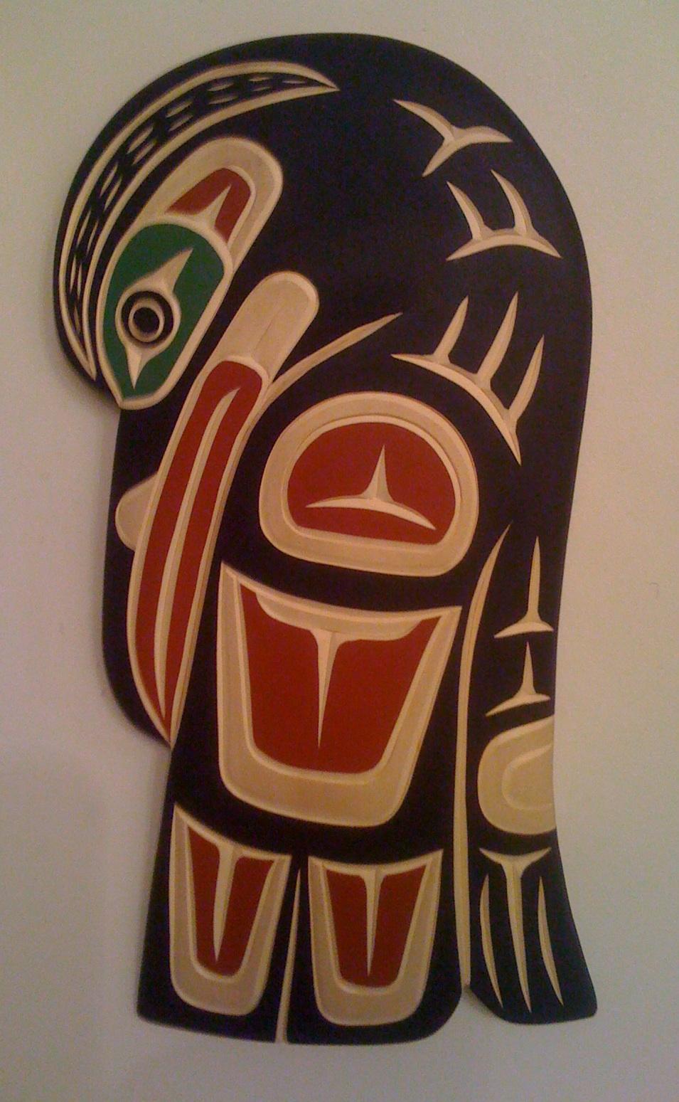 art country canada harvey john original haida carvings