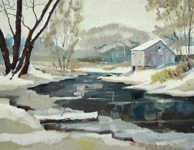 Alan Kingsland Fresh Snow