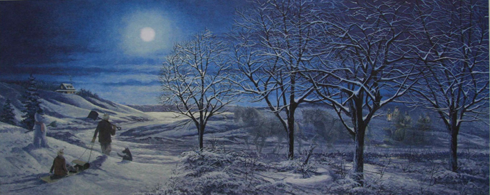 James Lumbers A Frosty Night
