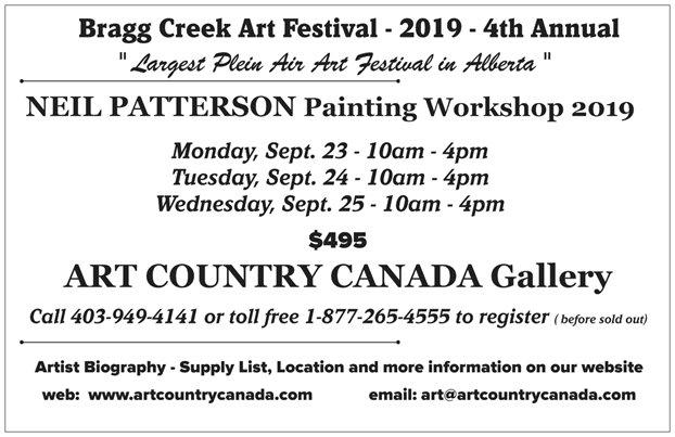 Art Country Canada - Bragg Creek Plein Air Art Festival