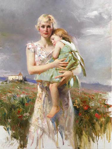 Pino Daeni Angel From Above