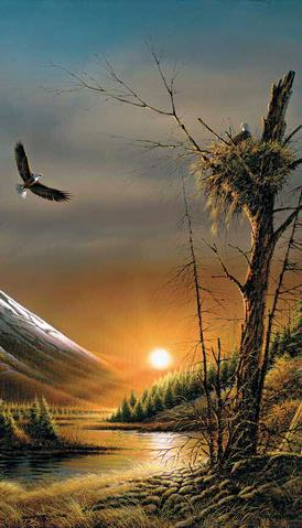 Terry Redlin Flying Free