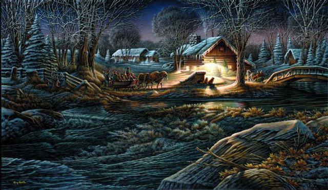 Terry Redlin Gathering Of Friends