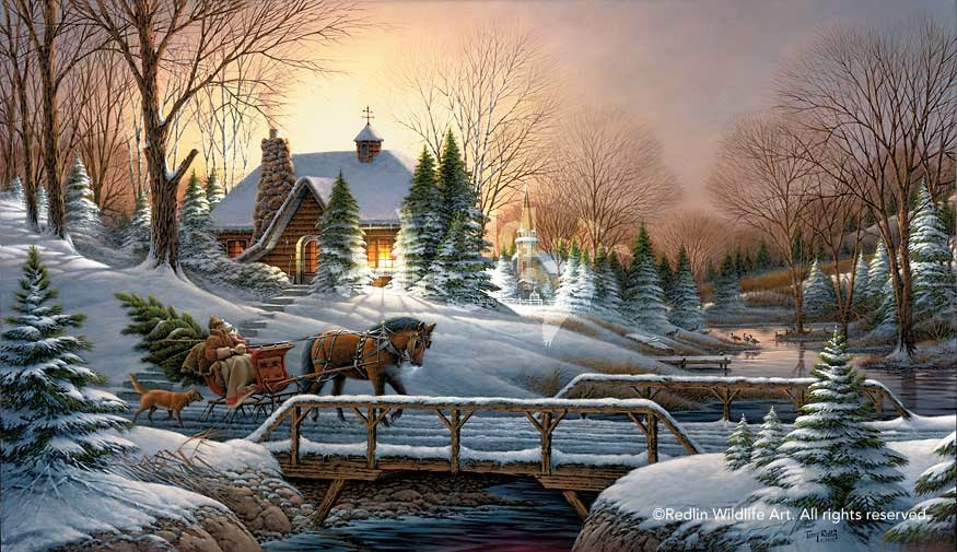 Terry Redlin Heading Home Limited edition Print