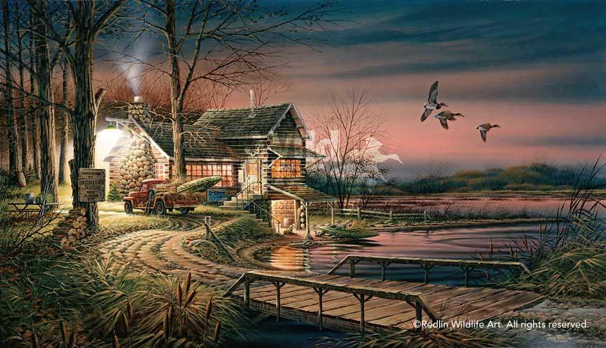 Terry Redlin S Last Painting