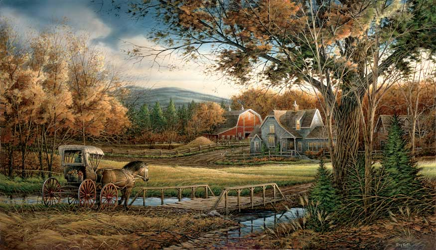 Office Hours By Terry Redlin Open Edition 11.5/'/' x 20.25/'/'