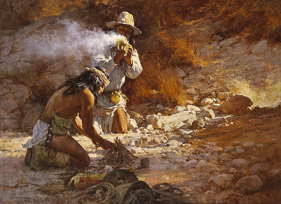Terpning - Apache Fire Makers
