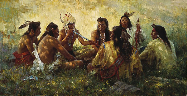 Terpning - Crow Pipe Ceremony