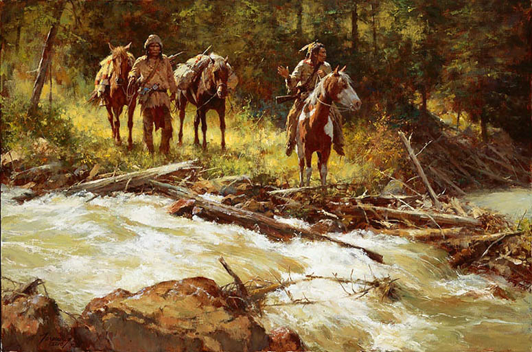 Howard Terpning Broken Trail