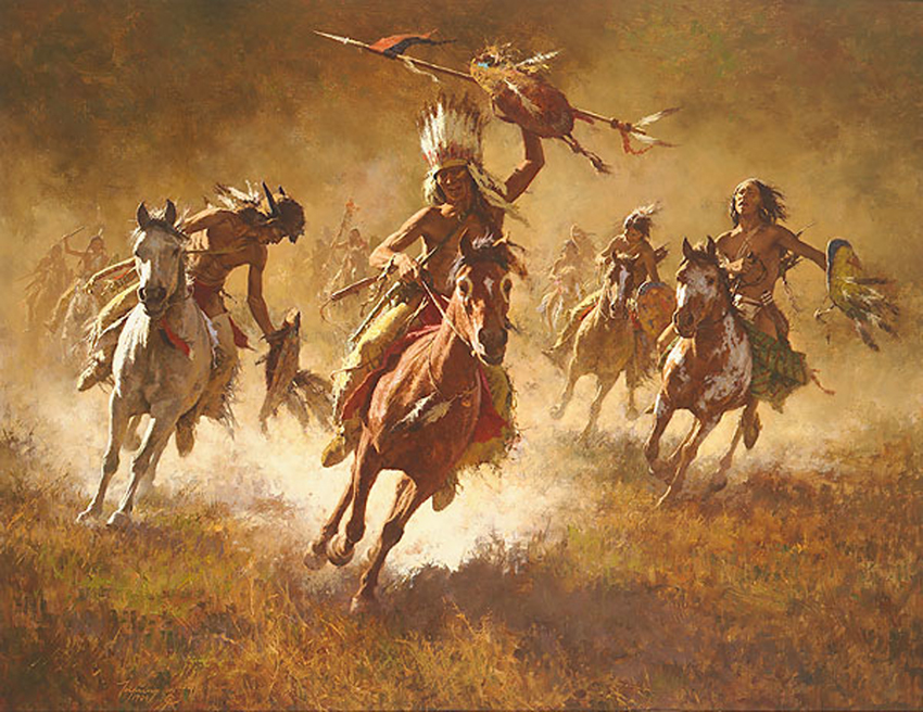 Howard Terpning Mystic Power Of the War Shield