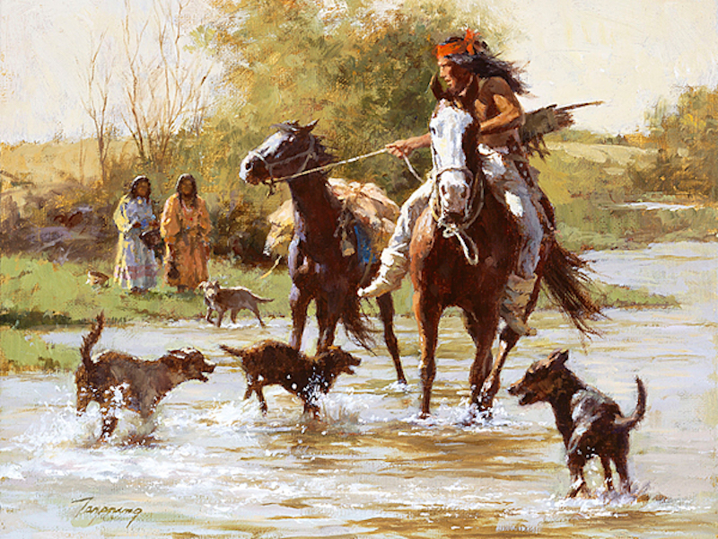 Art Country Canada Howard Terpning The World S Most