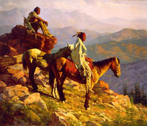 Howard Terpning On the Edge of the World