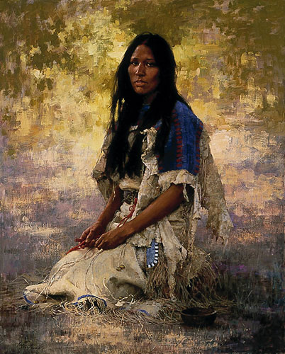 Terpning - Woman of the Sioux