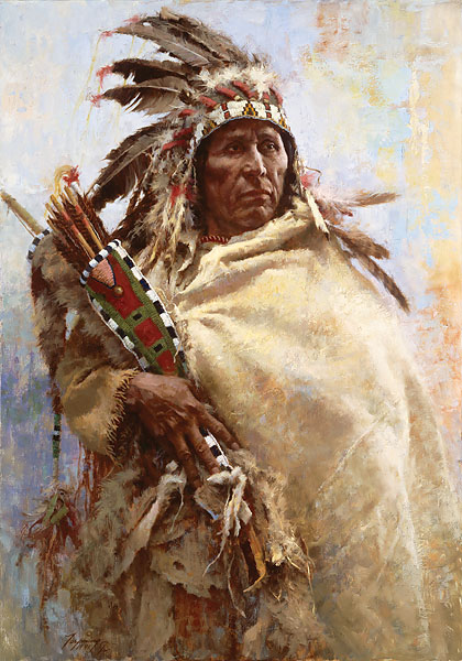 Howard Terpning Seeking Guidance from the Great Spirit