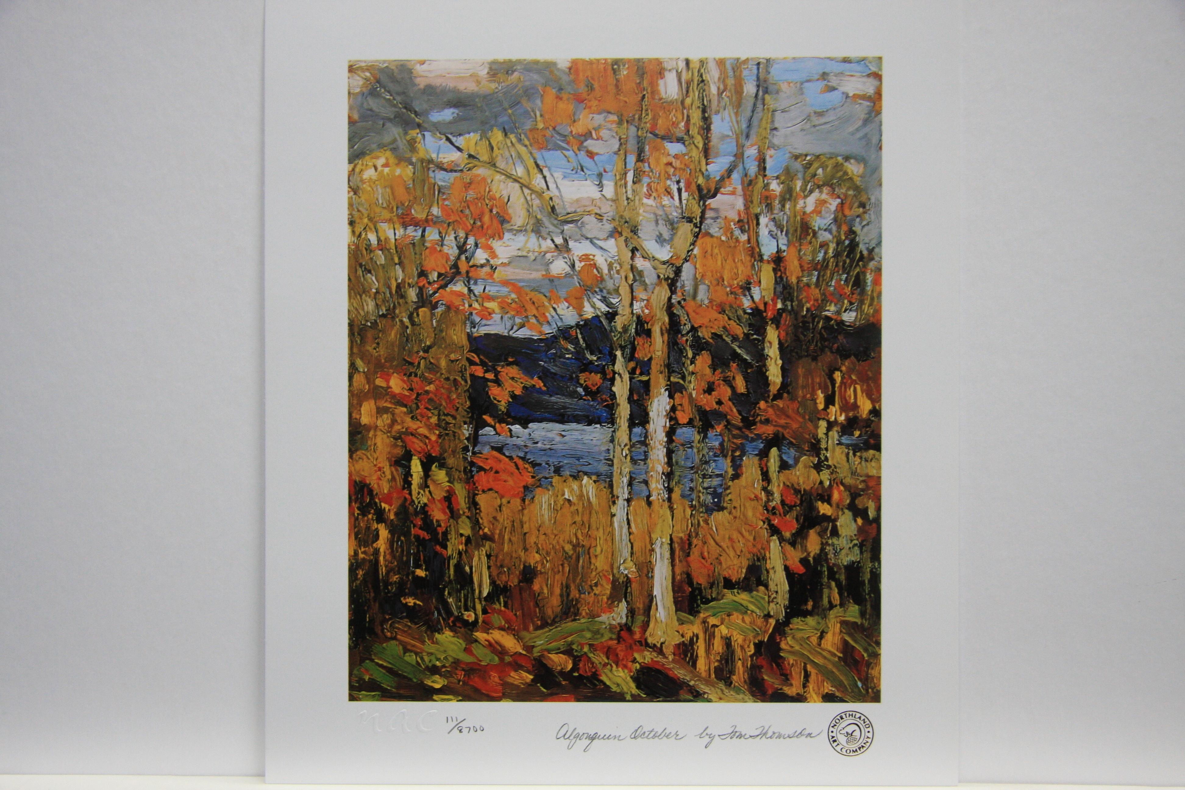 Index Of Images The Wetbrush Watercolor Mossaics Starburst Thomson Algonquin October Full