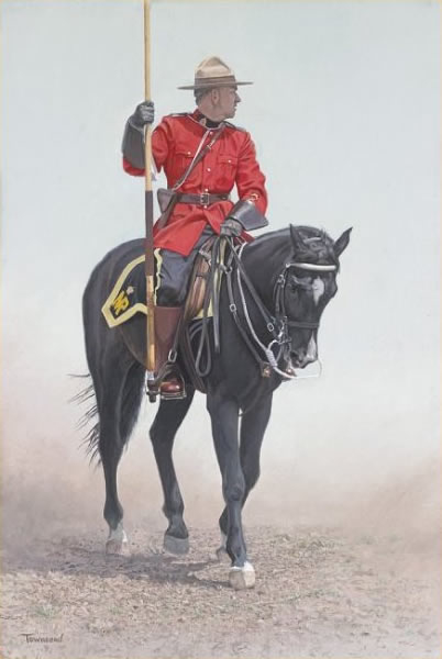 Brent Townsend RCMP rider