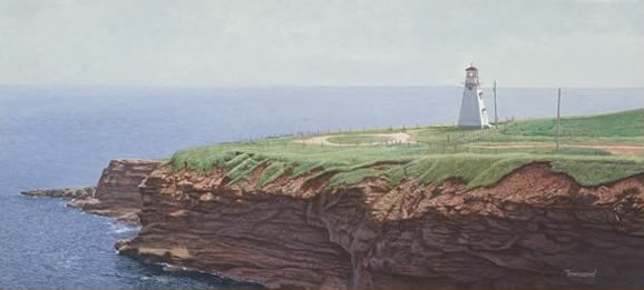 Brent Townsend Tyron Lighthouse PEI