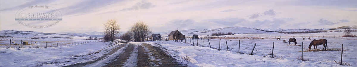 Marla Wilson Winter In The Foothills
