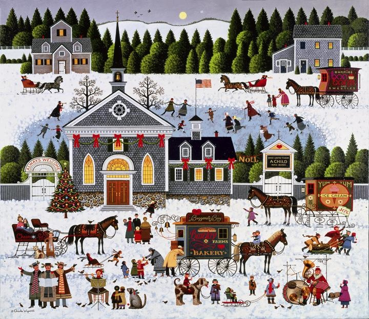 Art Country Canada Charles Wysocki World S Largest And
